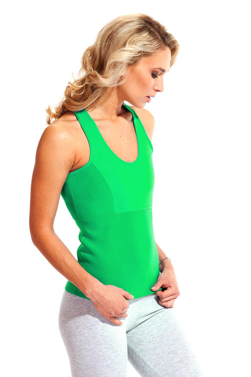 """Майка для похудения Bradex """"Body Shaper"""", цвет: зеленый. SF 0146. Размер XXXXL (56-58)"""