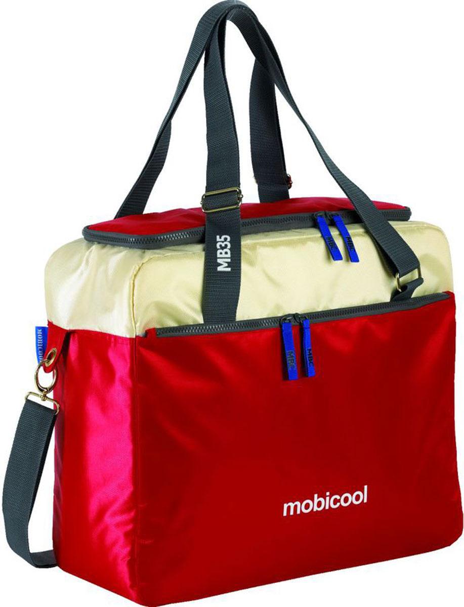 Термосумка MobiCool Sail 35, цвет: красный9103500758_красныйТермосумка MobiCool Sail 35, цвет: красный