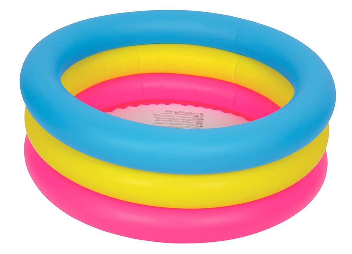 """Бассейн надувной Jilong """"Circular Kiddy Pool"""", 76 х 25 см"""