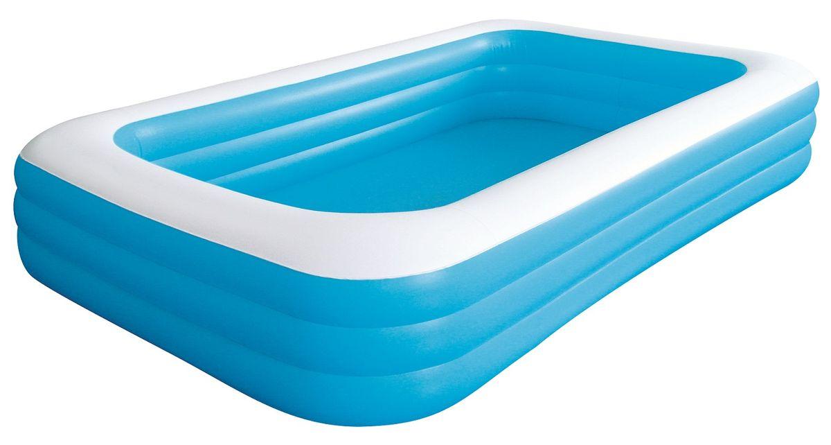 "Бассейн надувной Jilong ""Giant"", цвет: голубой, 366 х 193 х 56 см JL016014-1NPF"