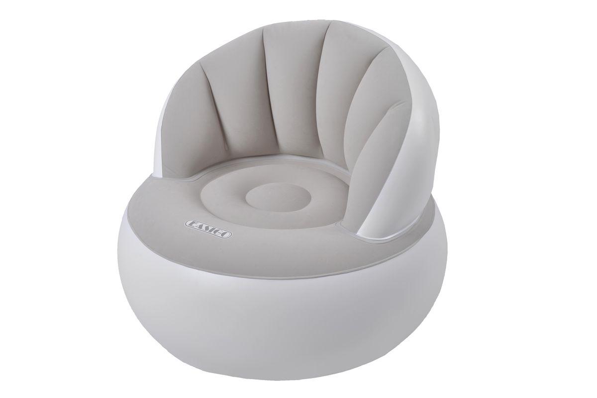 Кресло надувное Relax Easigo Chair, 85 х 85 х 74 смJL037265NСдержанный дизайн и нейтральные цвета подходят к любому интерьеру и делают надувное кресло Relax Easigo Chair отличным выбором. Имеет водоотталкивающее износостойкое флоковое покрытие. Специальная конструкция с хорошей поддержкой не только спины, но и поясницы. Самоклеящаяся заплатка прилагается. УВАЖАЕМЫЕ КЛИЕНТЫ! Возможны изменения в цветовом дизайне товара. Поставка осуществляется в зависимости от наличия на складе.