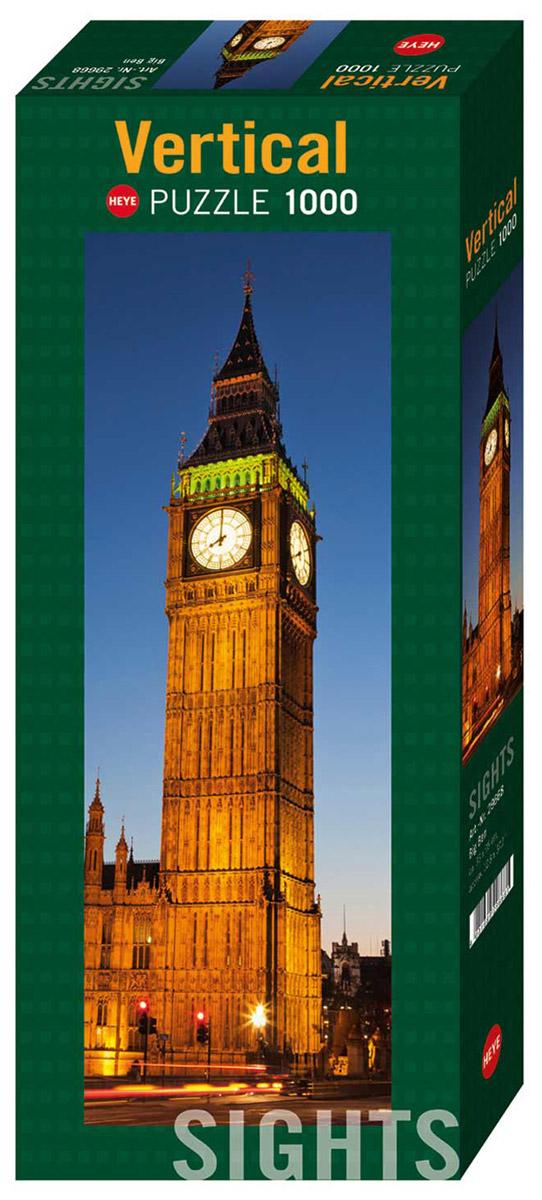 HEYE Пазл Биг-Бен29668Пазл HEYE Биг-Бен, без сомнения, придется вам по душе. Собрав замечательную картину из 1000 элементов, вы перенесетесь в Лондон. Биг-Бен - название самого большого из шести колоколов Вестминстерского дворца в Лондоне, часто это название относят к часам и Часовой башне в целом. Пазлы - прекрасное антистрессовое средство для взрослых и замечательная развивающая игра для детей. Собирание пазла развивает у ребенка мелкую моторику рук, тренирует наблюдательность, логическое мышление, знакомит с окружающим миром, с цветом и разнообразными формами, учит усидчивости и терпению, аккуратности и вниманию. Собирание пазла - прекрасное времяпрепровождение для всей семьи.
