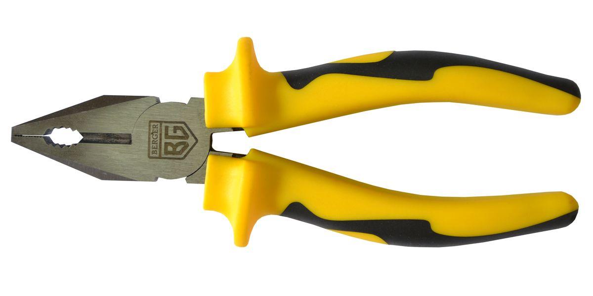 Плоскогубцы Berger, 180 мм. BG-180CPBG-180CPПлоскогубцы 180 мм Хромованадиевая сталь износостойкие захватные губки, с дополнительной закалкой. Эргономичные рукоятки имеют антискользящие вставки для более уверенного обхвата инструмента.