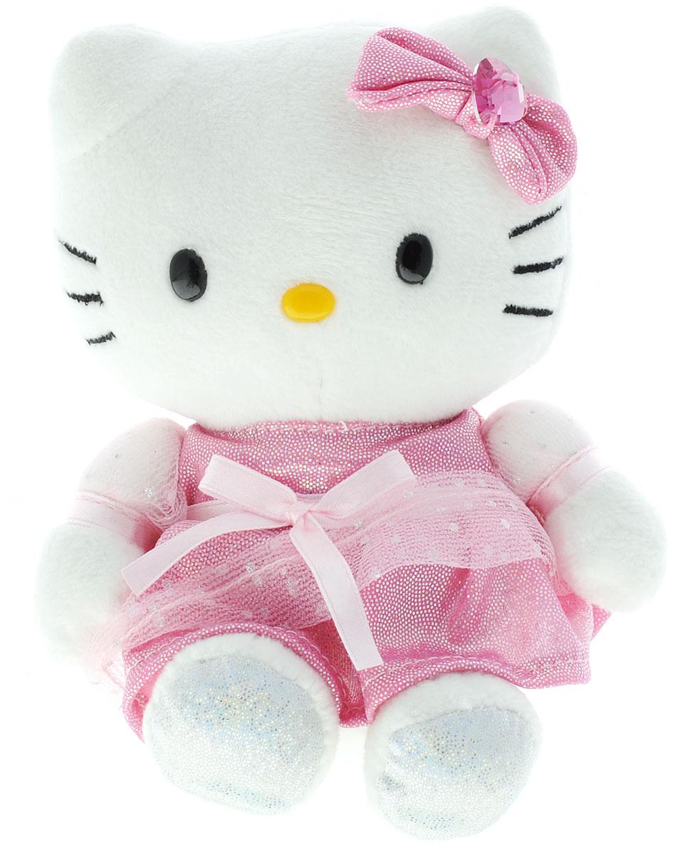 Мульти-Пульти Мягкая игрушка Hello Kitty 15 смV62042/15Мягкая игрушка сама по себе ассоциируется с радостью и весельем, конечно, и для наших детей такой подарок станет поистине незабываемым. Забавные, добрые мягкие игрушки радуют детей с самого рождения. Ведь уже в первые месяцы жизни ребенок проявляет интерес к плюшевым зверятам и необычным персонажам. Сначала они помогают ему познавать окружающий мир через тактильные ощущения, знакомят его с животным миром нашей планеты, формируют цветовосприятие и способствуют концентрации внимания.