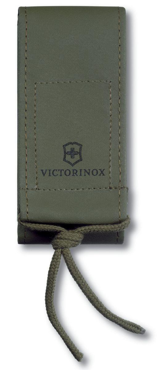 Чехол для ножей Victorinox 130 мм, цвет: зеленый. 4.0837.44.0837.4Единственный на сегодня чехол, который идеально подходит для ножей из новой коллекции Victorinox Delemont RangerGrip. Это более широкий аналог оливкового нейлонового чехла 4.0822.4. И именно благодаря своему размеру, отлично подходит для больших ножей Delemont RangerGrip. Широкий, износостойкий и практичный вертикальный чехол зеленого цвета для ношения на поясе. На клапане есть логотип Victorinox. Наличие шнурка на клапане значительно облегчает его открытие, а также делает возможным открытие такого чехла в перчатках. Подходит для швейцарских армейских ножей Victorinоx 111 мм с фиксатором толщиной более 4 уровней и для ножей из новой коллекции Victorinox Delemont RangerGrip. Особенности: водоотталкивающие покрытие возможность как горизонтального так и вертикального крепления чехла Застежка: Velkro (липучка) искусственная кожа