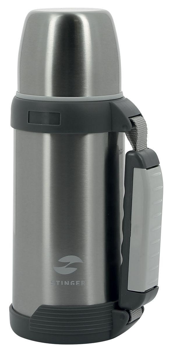 Термос Stinger, 0,75 л, широкий с ручкой. HY-TP201-3HY-TP201-3Небольшой термос STINGER HY-TP201-3, объемом 0,75 л, идеально подходит для хранения напитков. Его можно взять с собой в дорогу, небольшое путешествие, на работу или прогулку. Он позволит сохранить тепло напитка в холодное время года, а холод – в жаркое на протяжении 24 часов. После 24 часов температура наполнения будет поддерживаться на уровне 43°С. Термос изготавливается из высококачественных материалов не подверженных коррозии. Состоит из металлической колбы и верхней крышки, которую можно использовать в качестве кружки. На боковой части термоса расположена ручка с выдвижным ремешком, она обеспечивает удобство транспортировки и комфортабельность разлития напитков. Производится термос в классической серебристой расцветке с глянцевой поверхностью. нержавеющая сталь