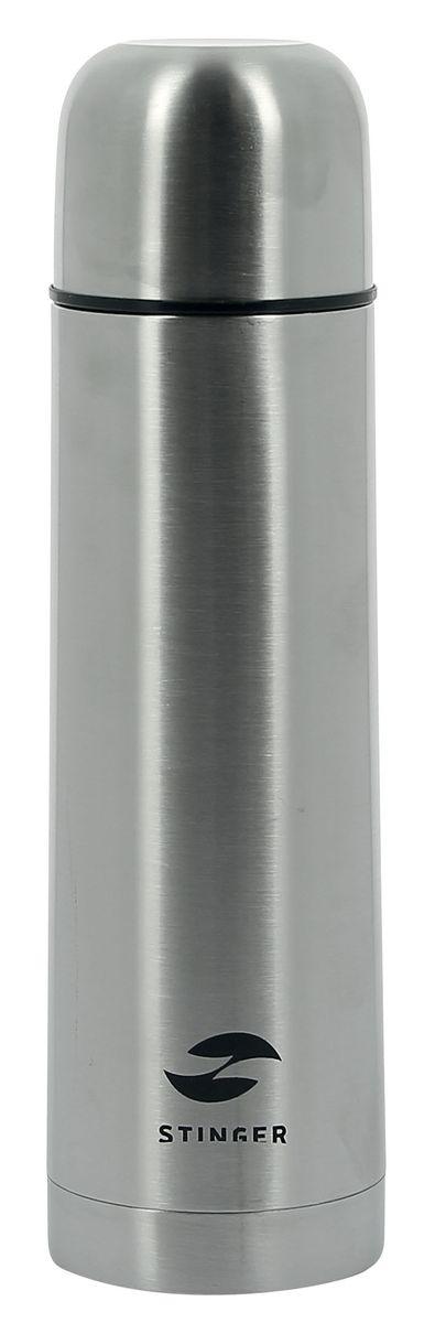 Термос Stinger, 0,75 л, узкий. HY-VF102-2HY-VF102-2Универсальный термос STINGER HY-VF102-2 объемом 0,75 л, предназначается для хранения холодных или горячих напитков. Изготавливается из безопасной для здоровья человека пищевой стали 201, обладающей высокими качественными характеристиками и прочностью. Классический дизайн STINGER HY-VF102-2 выполнен в серебристом цвете и понравятся даже самому изысканному пользователю. Он может стать отличным подарком на любой праздник. Термос держит температуру наполнения до 24 часов, после24 часов температура наполнения сохраняется на отметке 50°C. Металлическая колба и пробка с силиконовой прослойкой надежно защищают жидкость от влияния внешних факторов. Верхнюю крышку термоса можно использовать в роли чашки для питья. Термос можно брать с собой на работу, прогулку или путешествие. нержавеющая сталь