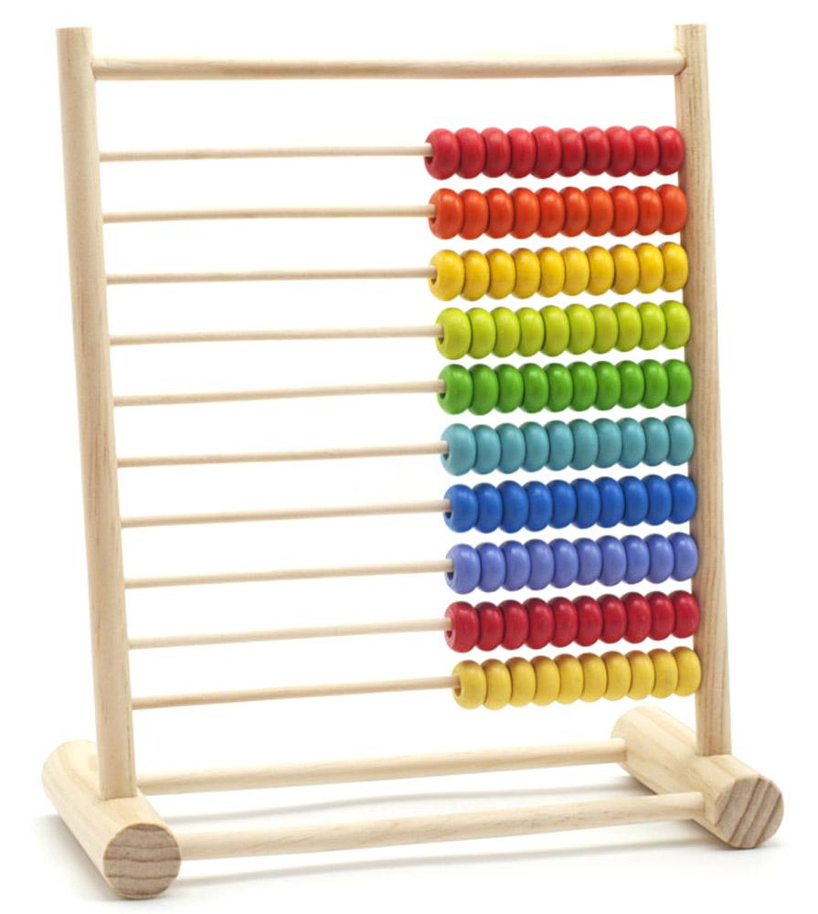 Мир деревянных игрушек Развивающая игра СчетыД171Развивающая игра Счеты научит вашего ребенка во время игры счету. Счеты выполнены из дерева, в голубом цвете с десятью рядами разноцветных косточек для счета. Ребенку будет весело передвигать разноцветные деревянные косточки, совмещая при этом игру с обучением.