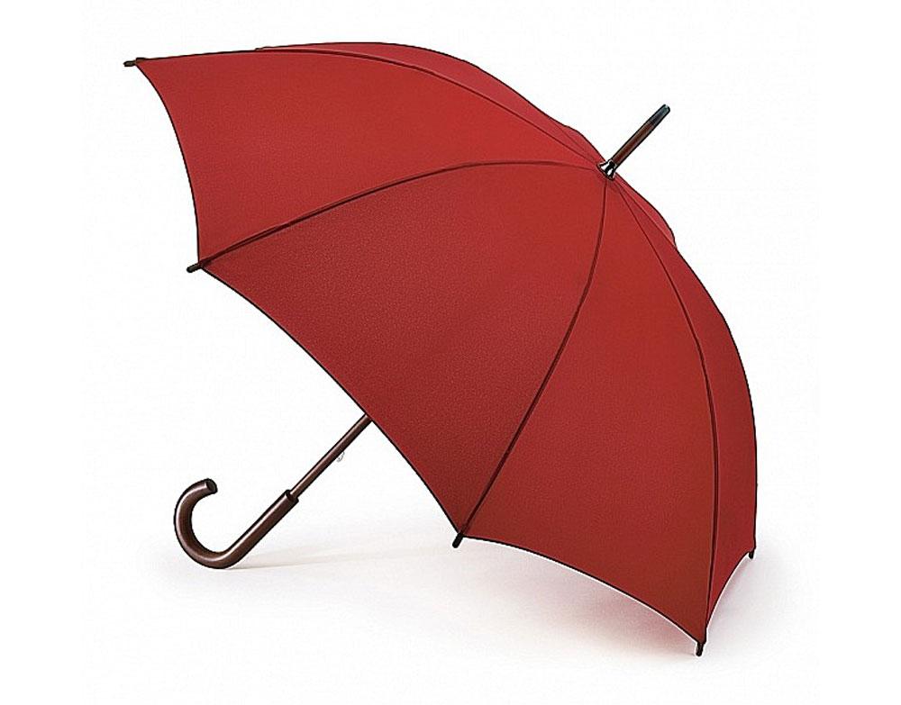 Зонт-трость женский Fulton Kensington, механический, цвет: темно-красный. L776-025L776-025 LipstickМодный механический зонт-трость Fulton Kensington даже в ненастную погоду позволит вам оставаться стильной и элегантной. Каркас зонта состоит из 8 спиц и стержня из фибергласса. Купол зонта выполнен из прочного полиэстера. Изделие оснащено удобной рукояткой из дерева. Зонт механического сложения: купол открывается и закрывается вручную до характерного щелчка. Модель закрывается при помощи двух хлястиков на кнопках. Такой зонт не только надежно защитит вас от дождя, но и станет стильным аксессуаром, который идеально подчеркнет ваш неповторимый образ.