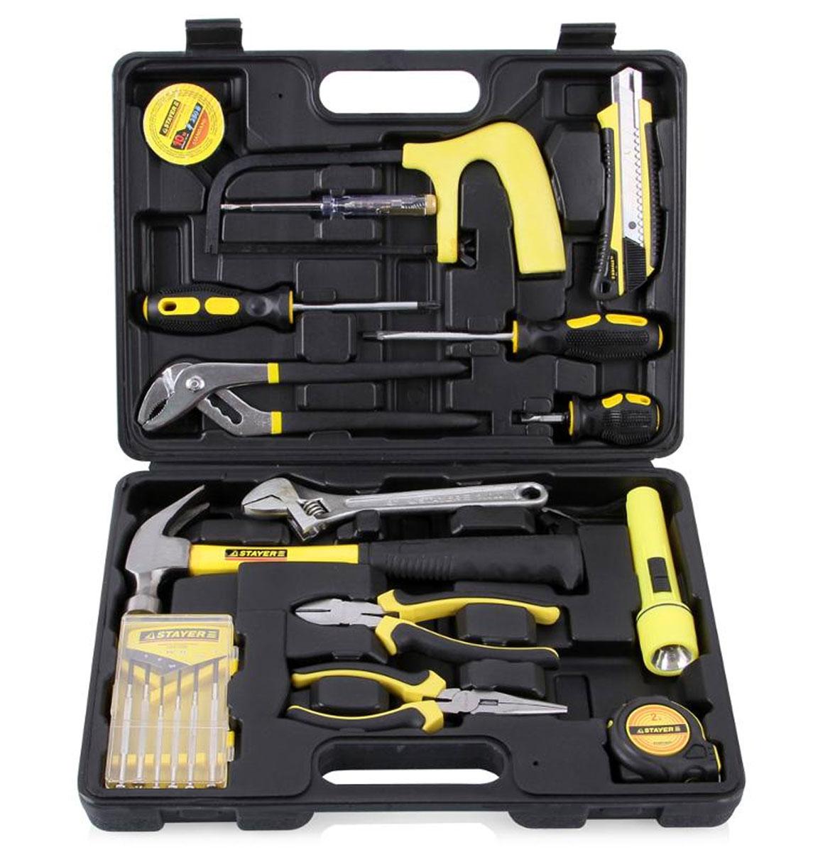 Набор инструментов Stayer Standard Механик для ремонтных работ, 15 предметов22052-H15