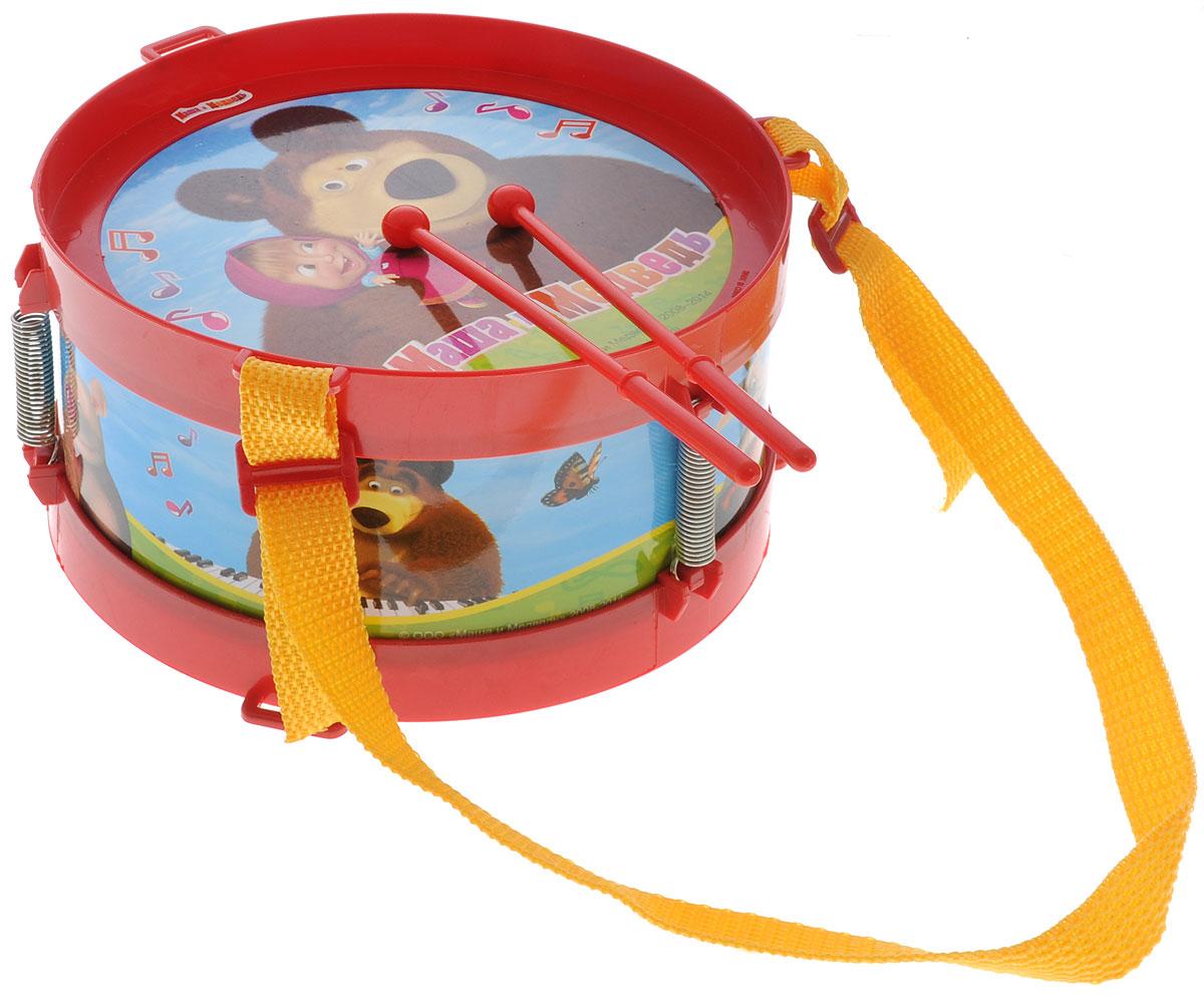 Играем вместе Барабан Маша и МедведьB64115-R2Барабан Играем вместе Маша и Медведь не позволит скучать вашему малышу. Он выполнен из безопасного и прочного пластика, оформлен изображениями персонажей мультфильма Маша и Медведь. Яркая расцветка барабана привлечет внимание и поднимет настроение малыша. Эта веселая игрушка поможет привить ребенку любовь к музыке. Барабан Играем вместе Маша и Медведь поможет развить слух, чувство ритма и музыкальные способности малыша, и он порадует вас веселым концертом!