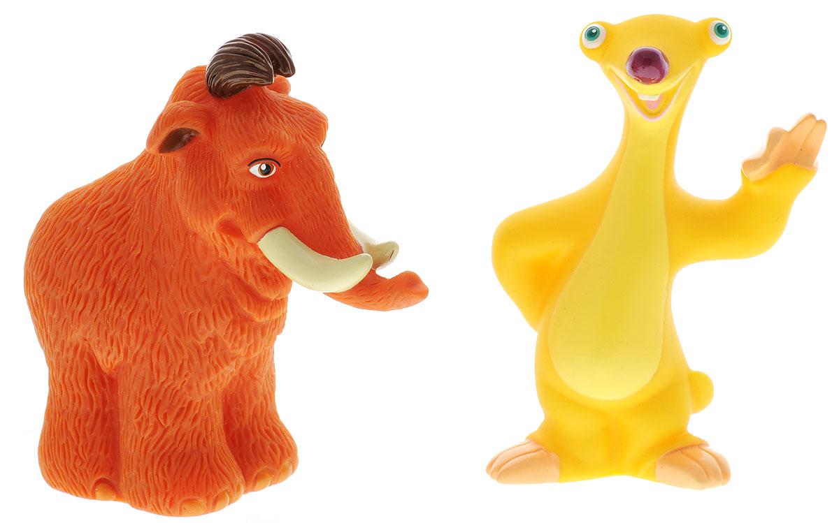 Играем вместе Набор игрушек для ванной Ледниковый период 2 шт165RНабор игрушек для ванной Играем вместе Ледниковый период обязательно понравится вашему малышу и превратит купание в веселый и увлекательный процесс. Игрушки выполнены в виде героев мультфильма Ледниковый период. В набор входят 2 игрушки. При нажатии на игрушку раздается громкий писк. Игрушки способствуют развитию внимательности, мелкой моторики рук, воображения, зрительного восприятия.
