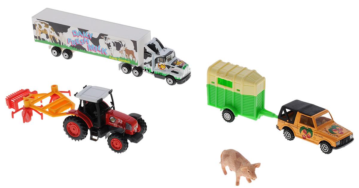 Pro-Engine Игровой набор Зеленая ферма со свиньей