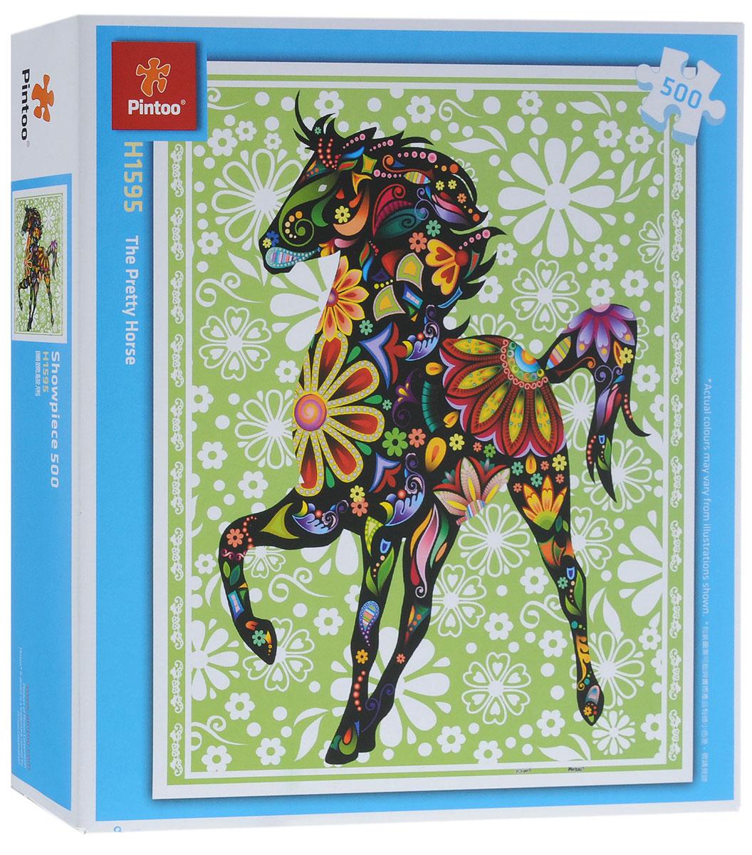 Pintoo Пазл Прекрасная лошадьН1595Пазл Pintoo Прекрасная лошадь, без сомнения, придется вам по душе. Собрав пазл из 500 элементов, вы получите картину с изображением силуэта лошади, украшенного мозаикой из цветов. Элементы выполнены из пластика и соединяются между собой методом замка (как ламинат), поэтому собранная картина очень крепко держится, при этом ее всегда можно разобрать и собрать снова. Пазлы - прекрасное антистрессовое средство для взрослых и замечательная развивающая игра для детей. Собирание пазла развивает у ребенка мелкую моторику рук, тренирует наблюдательность, логическое мышление, знакомит с окружающим миром, с цветом и разнообразными формами, учит усидчивости и терпению, аккуратности и вниманию. Собирание пазла - прекрасное времяпрепровождение для всей семьи.
