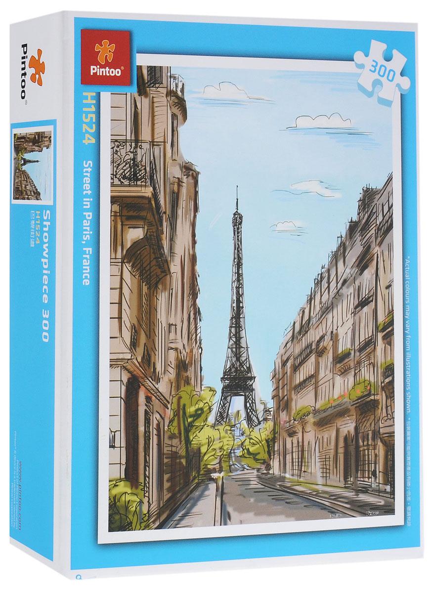 Pintoo Пазл Улица ПарижаН1524Пазл Pintoo Улица Парижа, без сомнения, придется вам по душе. Собрав замечательную картину из 300 элементов, вы получите великолепный вид на парижскую улицу с Эйфелевой башней. Элементы выполнены из пластика и соединяются между собой методом замка (как ламинат), поэтому собранная картина очень крепко держится, при этом ее всегда можно разобрать и собрать снова. Пазлы - прекрасное антистрессовое средство для взрослых и замечательная развивающая игра для детей. Собирание пазла развивает у ребенка мелкую моторику рук, тренирует наблюдательность, логическое мышление, знакомит с окружающим миром, с цветом и разнообразными формами, учит усидчивости и терпению, аккуратности и вниманию. Собирание пазла - прекрасное времяпрепровождение для всей семьи.