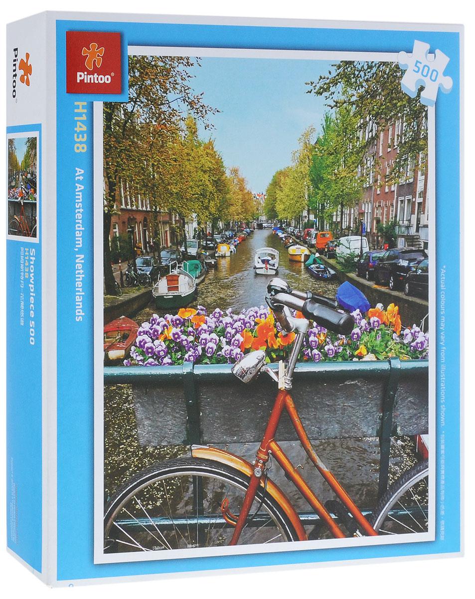 Pintoo Пазл АмстердамН1438Пазл Pintoo Амстердам, без сомнения, придется вам по душе. Собрав пазл из 500 элементов, вы получите картину с живописным видом на каналы Амстердама. Элементы выполнены из пластика и соединяются между собой методом замка (как ламинат), поэтому собранная картина очень крепко держится, при этом ее всегда можно разобрать и собрать снова. Пазлы - прекрасное антистрессовое средство для взрослых и замечательная развивающая игра для детей. Собирание пазла развивает у ребенка мелкую моторику рук, тренирует наблюдательность, логическое мышление, знакомит с окружающим миром, с цветом и разнообразными формами, учит усидчивости и терпению, аккуратности и вниманию. Собирание пазла - прекрасное времяпрепровождение для всей семьи.