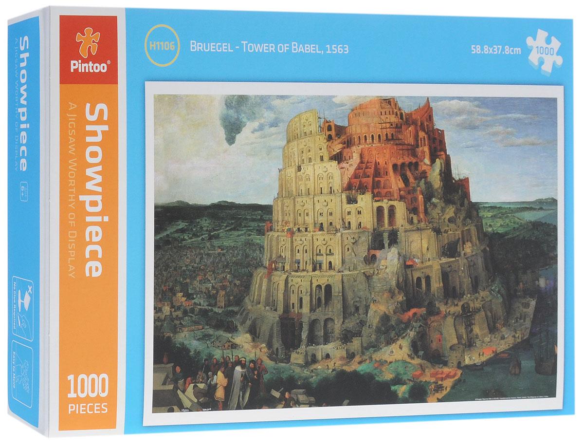 Pintoo Пазл Вавилонская башняН1106Пазл Pintoo Вавилонская башня, без сомнения, придется вам по душе. Собрав пазл из 1000 элементов, вы получите картину Брюгеля Tower of Babel 1563 года. Элементы выполнены из пластика и соединяются между собой методом замка (как ламинат), поэтому собранная картина очень крепко держится, при этом ее всегда можно разобрать и собрать снова. Пазлы - прекрасное антистрессовое средство для взрослых и замечательная развивающая игра для детей. Собирание пазла развивает у ребенка мелкую моторику рук, тренирует наблюдательность, логическое мышление, знакомит с окружающим миром, с цветом и разнообразными формами, учит усидчивости и терпению, аккуратности и вниманию. Собирание пазла - прекрасное времяпрепровождение для всей семьи.