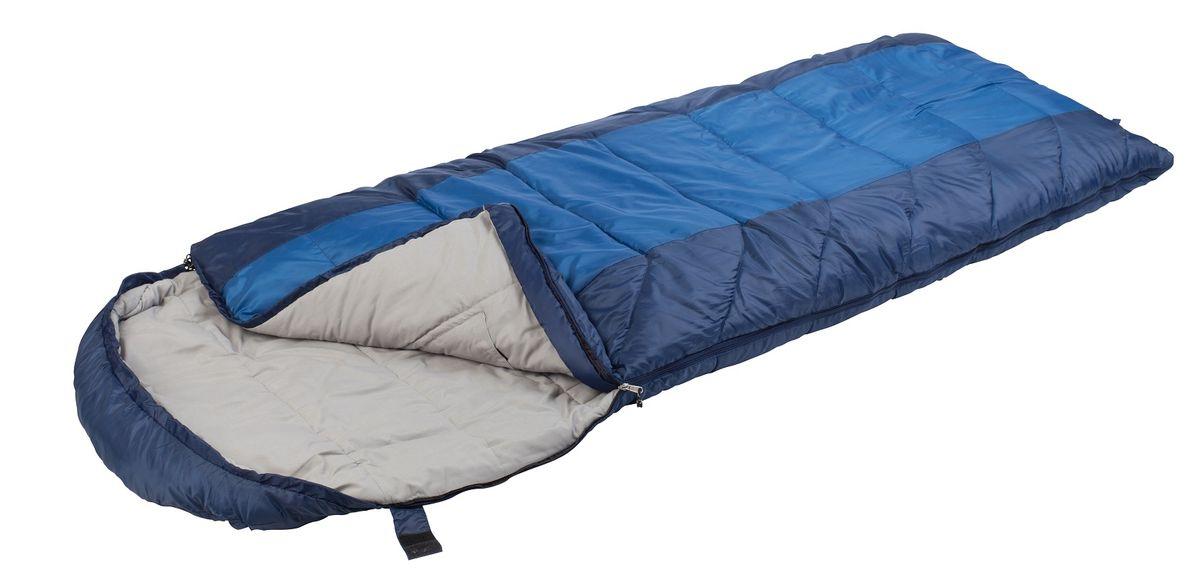 Спальный мешок Trek Planet Aspen Comfort Long,цвет: темно-синий, синий, левосторонняя молния70367-LКомфортный, просторный и теплый 3-х сезонный спальник-одеяло с капюшоном увеличенной длины TREK PLANET Aspen Comfort Long. Его отличительная особенность - натуральная внутренняя ткань поликоттон: прекрасно дышит и дает приятные ощущения во время сна. Спальник прекрасно подойдет для походов и отдыха на природе в холодные дни весенне-осеннего периода. Большой и уютный капюшон обеспечивает повышенный комфорт и тепло в холодную погоду. Утеплен двумя слоями техничного 4-канального волокна Hollow Fiber. ОСОБЕННОСТИ СПАЛЬНИКА: - Глубокий удобный капюшон, - 4-канальный наполнитель Hollow Fiber, - Внешний материал: полиэстер, - Внутренняя ткань: натуральный поликоттон, - Молния имеет два замка с обеих сторон, - Термоклапан вдоль молнии, - Внутренний карман, - Возможно состегивание спальников между собой - К спальнику прилагается компрессионный чехол из прочного полиэстера для удобного хранения и переноски. Характеристики: Цвет:...