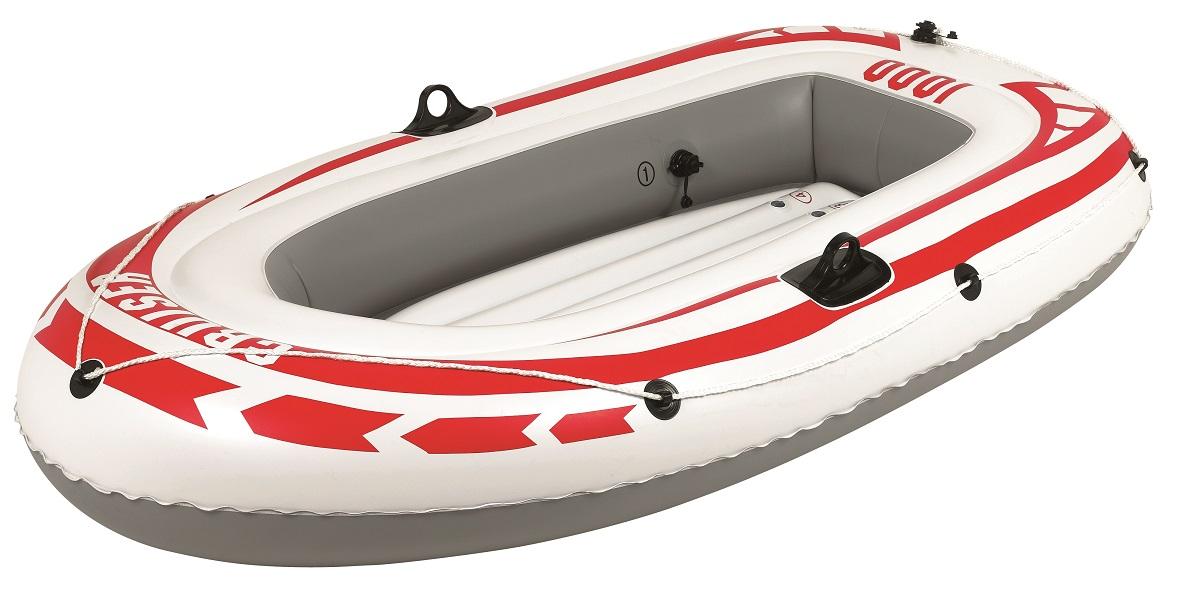 Лодка надувная Jilong Cruiser Boat CB1000, 185 х 98 х 28 см, цвет: серыйJL007008-1NЛодка надувная JILONG JL007008-1N CRUISER BOAT CB1000 взрослый+ребенок Размер - 185х98х28 см Максимальная нагрузка - 120 кг. Тип:гребная - Кол-во мест 1+1 - Длина лодки - 185см - Вес лодки - 2,42 кг - Материал - армированный ПВХ - 2-камерная конструкция лодки для большей безопасности - Держатель для весел - Надувной пол - Стропа по периметру лодки - Самоклеящаяся заплатка Характеристики: Страна: Китай Грузоподъемность:120кг Движитель: весла Уключины: Да