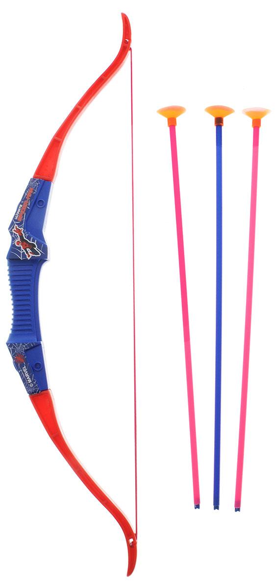 Играем вместе Лук Великий Человек-паук со стреламиB191666-RЛук Играем вместе Великий Человек-паук позволит вашему ребенку почувствовать себя во всеоружии! Лук выполнен из прочного пластика и снабжен резинкой для запуска стрел. Комплект также включает в себя три стрелы с мягкими резиновыми наконечниками. Игра с луком поможет ребенку в развитии меткости, ловкости, координации движений и сноровки.