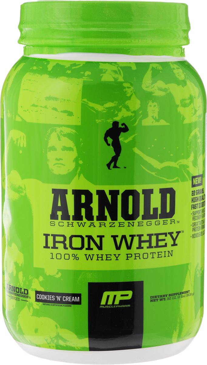 "������� MusclePharm ""Arnold Iron Whey"", ������� � ������, 908 �"