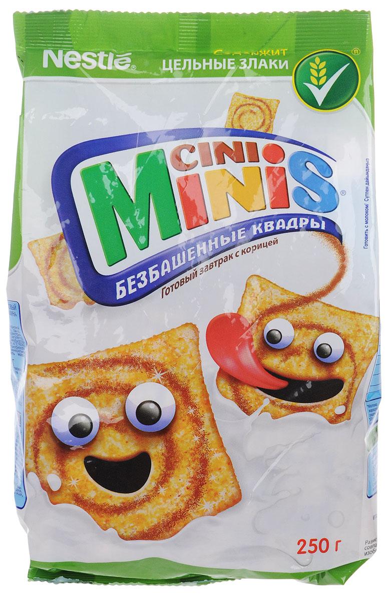Cini Minis готовый завтрак с корицей, 250 г12301003Зарядись энергией с готовым завтраков Cini Minis с витаминами и минеральными веществами. Это вкусный готовый завтрак для активного начала дня! Содержит цельные злаки 7 витаминов Кальций и железо
