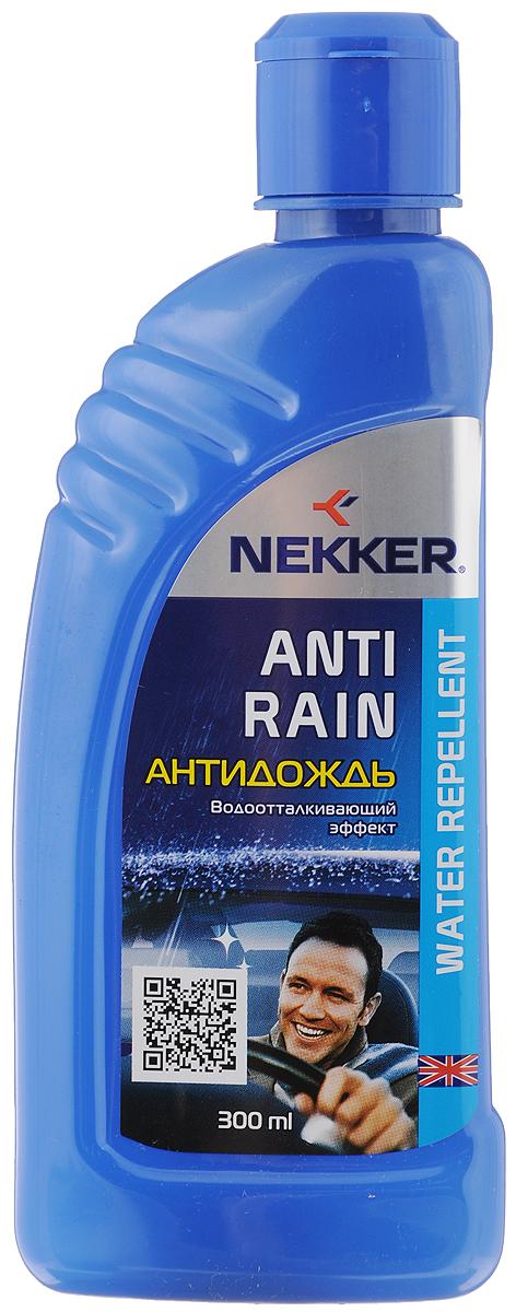 Антидождь Nekker, 300 мл66801104Высокоэффективное водоотталкивающее средство Nekker используется для придания водоотталкивающих свойств стеклянным и зеркальным наружным поверхностям автомобиля. Обеспечивает комфортное безопасное вождение, значительно улучшая дорожную видимость во время дождя и снегопада. Не оставляет разводов. Состав: жидкости полиорганосилоксановые, спирт изопропиловый. Товар сертифицирован.