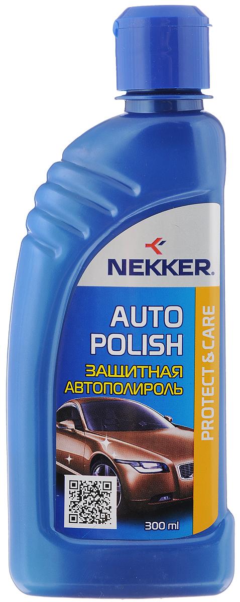 Полироль для автомобиля Nekker, защитная, 300 мл