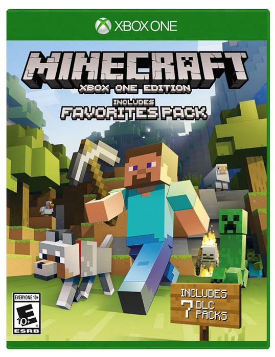 Minecraft. Favorites PackВ состав этого издания входит игра Minecraft вместе с 7 популярными наборами загружаемого контента. Изменяйте облик своего мира, занимаясь строительством, творчеством или исследованиями в одиночку или вместе с друзьями. Используйте свое воображение! Стройте! Создавайте и изучайте новые миры, которые ограничены лишь силой вашего воображения. Разделите ваши впечатления, играя до 4х человек на одной консоли и разделенном экране! Или играйте до 8 человек в сети Xbox Live. Издание содержит 7 лучших дополнений к игре: Festive Mash-up / Набор Праздничный Зимнее праздничное дополнение новые текстуры, скины, музыка и праздничный мир. Minecraft Fantasy Texture Pack / Minecraft: набор текстур Фантазия Перенесись в мир рыцарей и героев, во времена зарождения настоящих легенд! Пришло время создать свою собственную средневековую империю! Minecraft Natural Texture Pack / Minecraft: набор текстур Натуральный ...