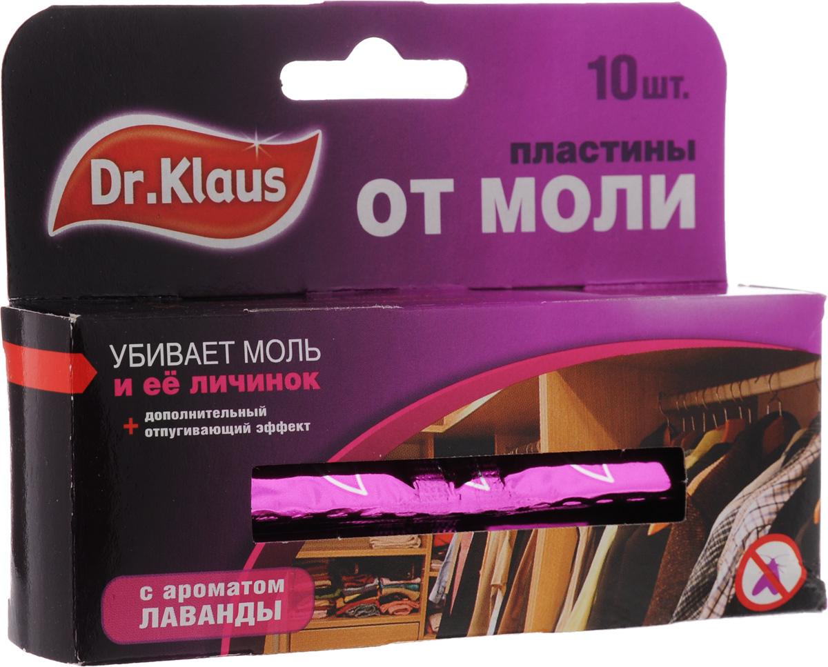 Пластины от моли Dr.Klaus, с ароматом лаванды, 10 штDK03030031Средство Dr.Klaus предназначено для защиты шерсти, меха и изделий из них от повреждения молью. Обладает приятным ароматом лаванды. Уничтожает личинок, а не просто отпугивает моль. Именно личинки портят вещи. Состав: 0,8% трансфлутрин. Комплектация: 10 шт. Товар сертифицирован.