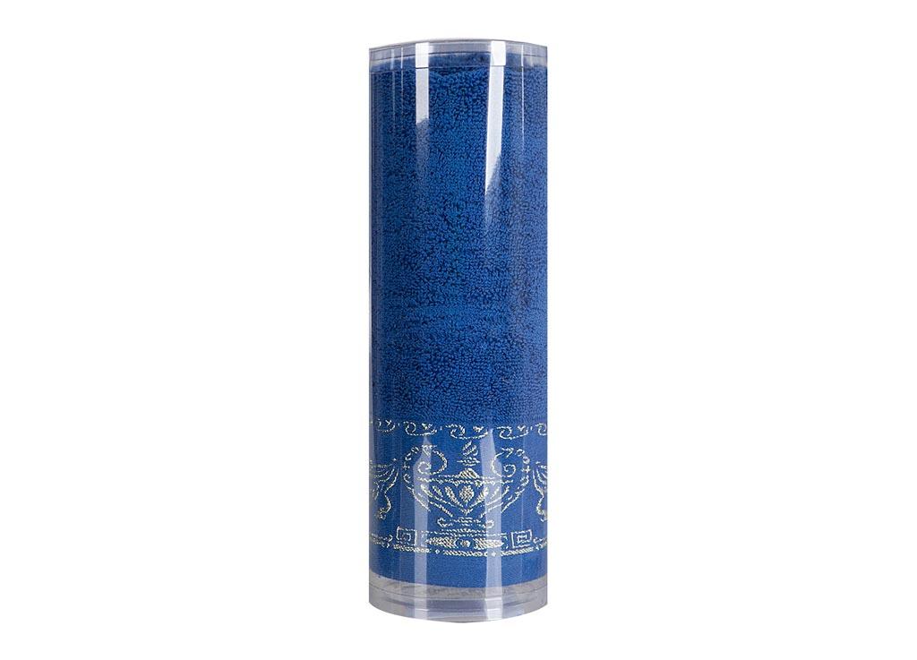 Полотенце махровое Soavita Амфора, цвет: синий, 45 х 80 см. 8275182751Махровое полотно создается из хлопковых нитей, которые, в свою очередь, прядутся из множества хлопковых волокон. Чем длиннее эти волокна, тем прочнее будет нить, и, соответственно, изделие. Длина составляющих хлопковую нить волокон влияет и на фактуру получаемой ткани: чем они длиннее, тем мягче и пушистее получится махровое изделие, тем лучше будет впитывать изделие воду. Хотя на впитывающие качество махры – ее гигроскопичность, не в последнюю очередь влияет состав волокна. Мягкая махровая ткань отлично впитывает влагу и быстро сохнет. Soavita – это популярный бренд домашнего текстиля. Дизайнерская студия этой фирмы находится во Флоренции, Италия. Производство перенесено в Китай, чтобы сделать продукцию более доступной для покупателей. Таким образом, вы имеете возможность покупать продукцию европейского качества совсем не дорого. Домашний текстиль прослужит вам долго: все детали качественно прошиты, ткани очень плотные, рисунок наносится безопасными для здоровья красителями, не...