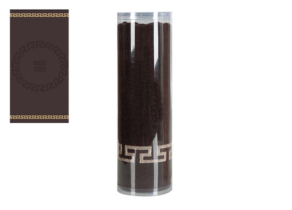 Полотенце Soavita Эллада, цвет: коричневый, 65 х 130 см82992Махровое полотенце Soavita Эллада выполнено из хлопка. Полотенца используются для протирки различных поверхностей, также широко применяются в быту. Такой набор станет отличным вариантом для практичной и современной хозяйки. Махровое полотно создается из хлопковых нитей, которые, в свою очередь, прядутся из множества хлопковых волокон. Чем длиннее эти волокна, тем прочнее будет нить, и, соответственно, изделие. Длина составляющих хлопковую нить волокон влияет и на фактуру получаемой ткани: чем они длиннее, тем мягче и пушистее получится махровое изделие, тем лучше будет впитывать изделие воду. Хотя на впитывающие качество махры - ее гигроскопичность, не в последнюю очередь влияет состав волокна. Мягкая махровая ткань отлично впитывает влагу и быстро сохнет. Размер полотенца: 65 х 130 см.
