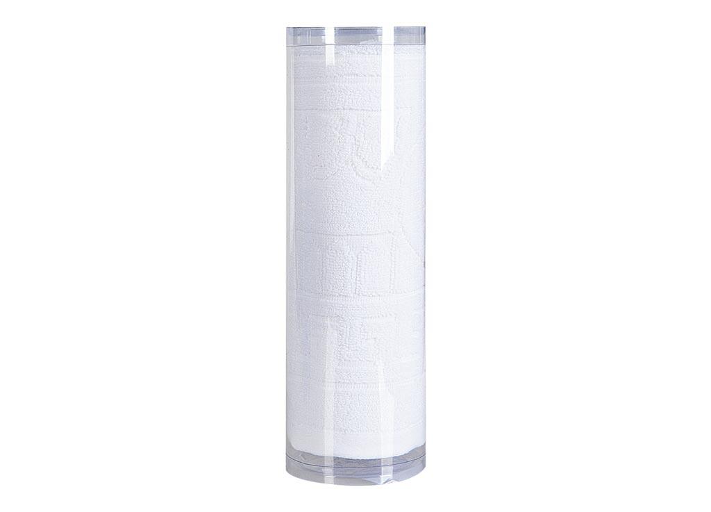 Полотенце махровое Soavita Капитель, цвет: белый, 65 х 130 см82995Махровое полотно создается из хлопковых нитей, которые, в свою очередь, прядутся из множества хлопковых волокон. Чем длиннее эти волокна, тем прочнее будет нить, и, соответственно, изделие. Длина составляющих хлопковую нить волокон влияет и на фактуру получаемой ткани: чем они длиннее, тем мягче и пушистее получится махровое изделие, тем лучше будет впитывать изделие воду. Хотя на впитывающие качество махры – ее гигроскопичность, не в последнюю очередь влияет состав волокна. Мягкая махровая ткань отлично впитывает влагу и быстро сохнет. Soavita – это популярный бренд домашнего текстиля. Дизайнерская студия этой фирмы находится во Флоренции, Италия. Производство перенесено в Китай, чтобы сделать продукцию более доступной для покупателей. Таким образом, вы имеете возможность покупать продукцию европейского качества совсем не дорого. Домашний текстиль прослужит вам долго: все детали качественно прошиты, ткани очень плотные, рисунок наносится безопасными для здоровья красителями, не...