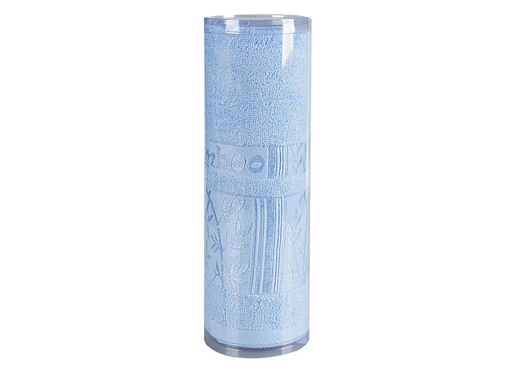 Полотенце махровое Soavita Carol, цвет: голубой, 45 х 90 см83137Махровое полотенце Soavita Carol выполнено из бамбукового волокна. Полотенца используются для протирки различных поверхностей, также широко применяются в быту. Такой набор станет отличным вариантом для практичной и современной хозяйки. Махровое полотно создается из хлопковых нитей, которые, в свою очередь, прядутся из множества хлопковых волокон. Чем длиннее эти волокна, тем прочнее будет нить, и, соответственно, изделие. Длина составляющих хлопковую нить волокон влияет и на фактуру получаемой ткани: чем они длиннее, тем мягче и пушистее получится махровое изделие, тем лучше будет впитывать изделие воду. Хотя на впитывающие качество махры - ее гигроскопичность, не в последнюю очередь влияет состав волокна. Мягкая махровая ткань отлично впитывает влагу и быстро сохнет. Размер полотенца: 45 х 90 см.
