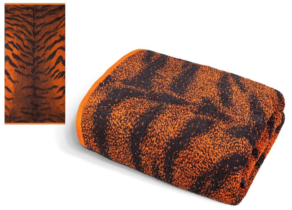 Полотенце Soavita Premium. Тигр, цвет: черный, оранжевый, 65 х 135 см63829Махровое полотенце Soavita Premium. Тигр выполнено из хлопка. Полотенца используются для протирки различных поверхностей, также широко применяются в быту. Перед использованием постирать при температуре не выше 40 градусов. Размер полотенца: 65 х 135 см.