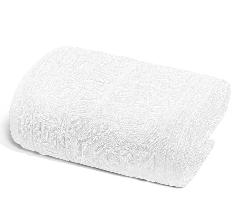 Полотенце Soavita Premium. Капитель, цвет: белый, 65 х 130 см66174Перед использованием постирать при температуре не выше 40 градусов