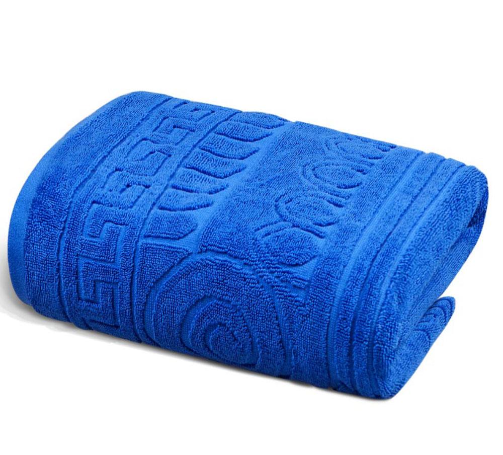Полотенце Soavita Premium. Капитель, цвет: синий, 45 х 80 см66175Перед использованием постирать при температуре не выше 40 градусов