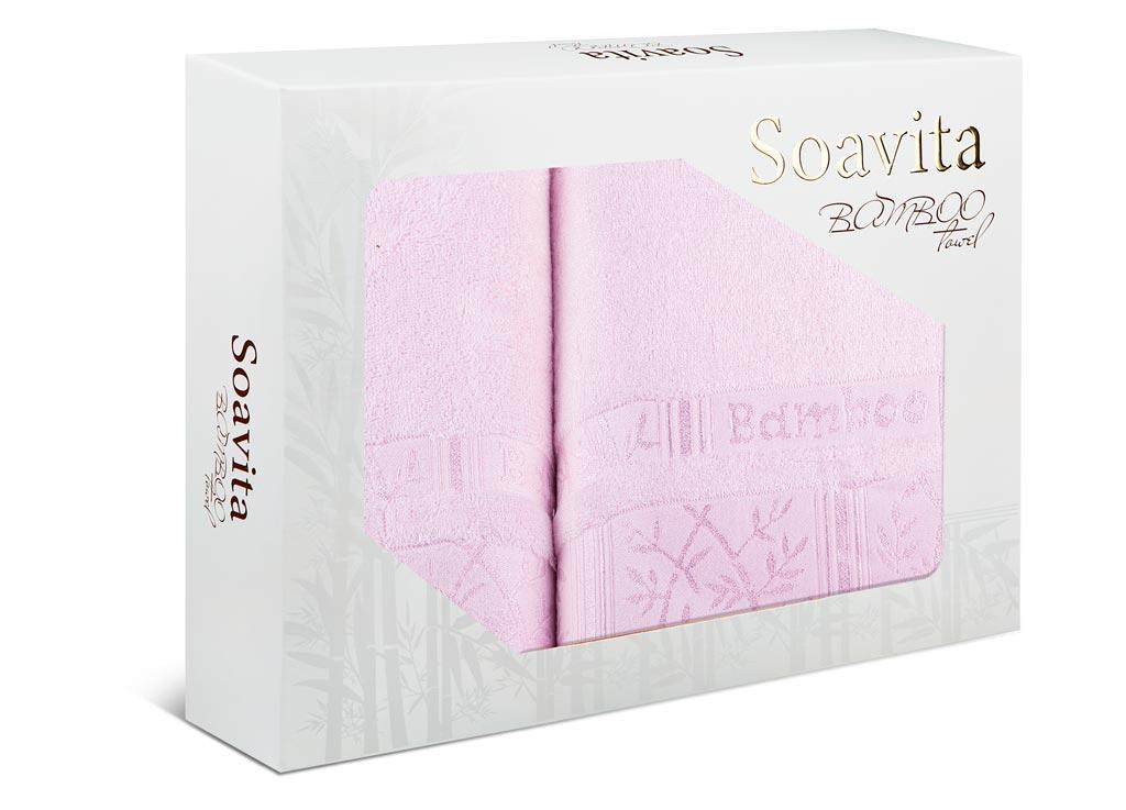 Набор махровых полотенец Soavita Carol, цвет: розовый, 2 шт70016Махровое полотно создается из хлопковых нитей, которые, в свою очередь, прядутся из множества хлопковых волокон. Чем длиннее эти волокна, тем прочнее будет нить, и, соответственно, изделие. Длина составляющих хлопковую нить волокон влияет и на фактуру получаемой ткани: чем они длиннее, тем мягче и пушистее получится махровое изделие, тем лучше будет впитывать изделие воду. Хотя на впитывающие качество махры – ее гигроскопичность, не в последнюю очередь влияет состав волокна. Мягкая махровая ткань отлично впитывает влагу и быстро сохнет.