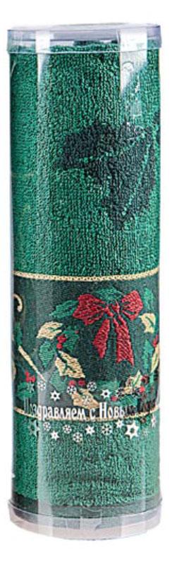 Полотенце махровое Soavita Garland, цвет: зеленый, 45 х 90 см70365Махровое полотно создается из хлопковых нитей, которые, в свою очередь, прядутся из множества хлопковых волокон. Чем длиннее эти волокна, тем прочнее будет нить, и, соответственно, изделие. Длина составляющих хлопковую нить волокон влияет и на фактуру получаемой ткани: чем они длиннее, тем мягче и пушистее получится махровое изделие, тем лучше будет впитывать изделие воду. Хотя на впитывающие качество махры – ее гигроскопичность, не в последнюю очередь влияет состав волокна. Мягкая махровая ткань отлично впитывает влагу и быстро сохнет. Soavita – это популярный бренд домашнего текстиля. Дизайнерская студия этой фирмы находится во Флоренции, Италия. Производство перенесено в Китай, чтобы сделать продукцию более доступной для покупателей. Таким образом, вы имеете возможность покупать продукцию европейского качества совсем не дорого. Домашний текстиль прослужит вам долго: все детали качественно прошиты, ткани очень плотные, рисунок наносится безопасными для здоровья красителями, не...