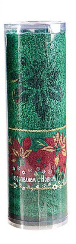 Полотенце махровое Soavita Flower, цвет: зеленый, 45 х 90 см70367Махровое полотно создается из хлопковых нитей, которые, в свою очередь, прядутся из множества хлопковых волокон. Чем длиннее эти волокна, тем прочнее будет нить, и, соответственно, изделие. Длина составляющих хлопковую нить волокон влияет и на фактуру получаемой ткани: чем они длиннее, тем мягче и пушистее получится махровое изделие, тем лучше будет впитывать изделие воду. Хотя на впитывающие качество махры – ее гигроскопичность, не в последнюю очередь влияет состав волокна. Мягкая махровая ткань отлично впитывает влагу и быстро сохнет. Soavita – это популярный бренд домашнего текстиля. Дизайнерская студия этой фирмы находится во Флоренции, Италия. Производство перенесено в Китай, чтобы сделать продукцию более доступной для покупателей. Таким образом, вы имеете возможность покупать продукцию европейского качества совсем не дорого. Домашний текстиль прослужит вам долго: все детали качественно прошиты, ткани очень плотные, рисунок наносится безопасными для здоровья красителями, не...