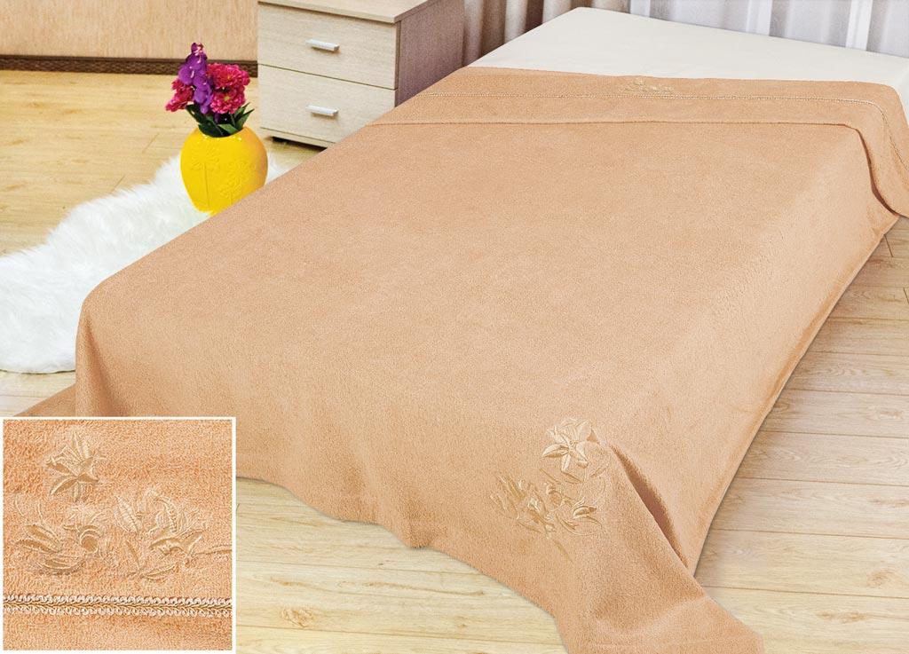 Покрывало Soavita Бамбук, цвет: бежевый, 180 х 220 см70475Покрывало Soavita Бамбук изготовлено из экологически чистого материала - бамбукового волокна, поэтому является гипоаллергенным и подходит как для взрослых, так и для детей. Оно будет хорошо смотреться и на диване, и на большой кровати. Покрывало Soavita не только подарит тепло, но и гармонично впишется в интерьер вашего дома.