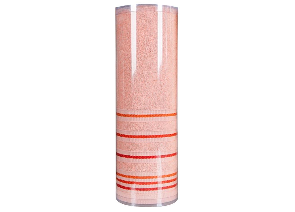 Полотенце махровое Soavita Eo. Элит, цвет: персиковый, 70 х 140 см74676Махровое полотно создается из хлопковых нитей, которые, в свою очередь, прядутся из множества хлопковых волокон. Чем длиннее эти волокна, тем прочнее будет нить, и, соответственно, изделие. Длина составляющих хлопковую нить волокон влияет и на фактуру получаемой ткани: чем они длиннее, тем мягче и пушистее получится махровое изделие, тем лучше будет впитывать изделие воду. Хотя на впитывающие качество махры – ее гигроскопичность, не в последнюю очередь влияет состав волокна. Мягкая махровая ткань отлично впитывает влагу и быстро сохнет. Soavita – это популярный бренд домашнего текстиля. Дизайнерская студия этой фирмы находится во Флоренции, Италия. Производство перенесено в Китай, чтобы сделать продукцию более доступной для покупателей. Таким образом, вы имеете возможность покупать продукцию европейского качества совсем не дорого. Домашний текстиль прослужит вам долго: все детали качественно прошиты, ткани очень плотные, рисунок наносится безопасными для здоровья красителями, не...