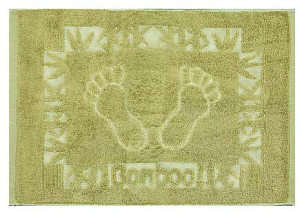 Полотенце Soavita Бамбук, цвет: зеленый, 50 х 70 см77119Перед использованием постирать при температуре не выше 40 градусов