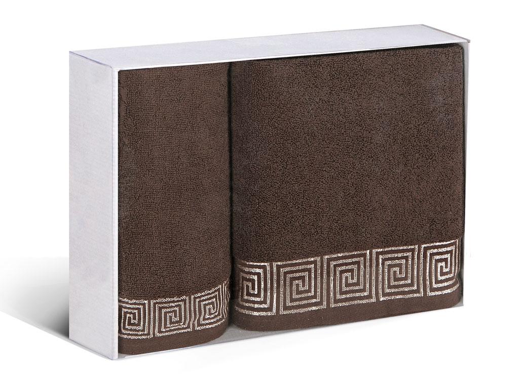 Набор полотенец Soavita Premium. Антик, цвет: коричневый, 2 шт77705Набор Soavita Premium. Антик состоит из двух полотенец разного размера, которые выполнены из 100% хлопка. Изделия отлично впитывают влагу, быстро сохнут, сохраняют яркость цвета и не теряют форму даже после многократных стирок. Такие полотенца очень практичны и неприхотливы в уходе. Набор Soavita создаст прекрасное настроение и украсит интерьер в ванной комнате.