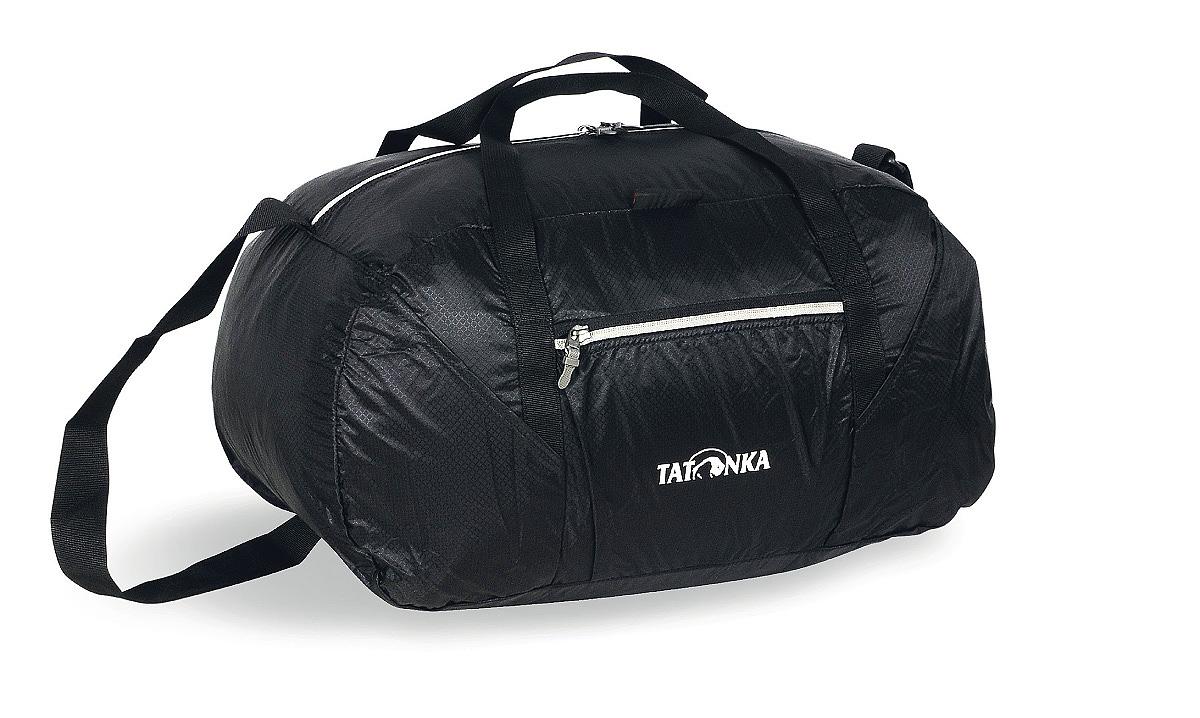 Сумка складная Tatonka Squeezy Duffle S, цвет: черный, 30 л2223.040Сумка Squeezy Duffle S - идеальный спутник в любом путешествии или походе за покупками. У сложенном виде сумка занимает минимум места (15x14x6 см). При необходимости ее легко разложить в объемную (30 литров) сумку.