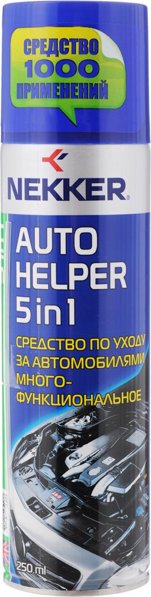 Средство по уходу за автомобилями Nekker, многофункиональное, 250 мл66600707Многофункциональное средство Nekker позволяет быстро и эффективно разъединить ржавые и прикипевшие резьбовые соединения. Очищает поверхности от старой смазки, засохшего масла, гудрона, смолы и других сильных загрязнений. Предотвращает заедания, закисания резьбовых и других соединений. Уменьшает трение и износ подвижных деталей. Состав: нефтяной растворитель, минеральное масло, полиметилсилоксановая жидкость, ингибитор коррозии, целевые добавки, пропеллент углеводородный. Товар сертифицирован.