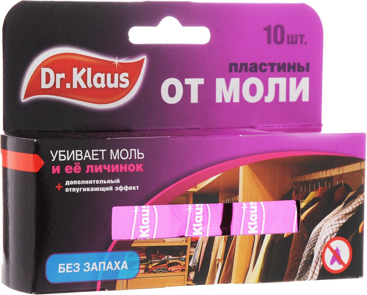 Пластины от моли Dr.Klaus, без запаха, 10 штDK03030041Средство Dr.Klaus предназначено для защиты шерсти, меха и изделий из них от повреждения молью. Уничтожает личинок, а не просто отпугивает моль. Именно личинки портят вещи. Состав: 0,8% трансфлутрин. Комплектация: 10 шт. Товар сертифицирован.