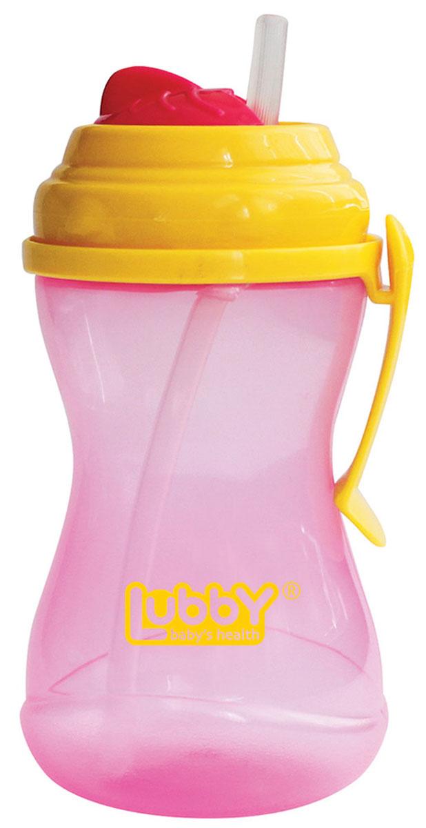 Lubby Поильник-непроливайка Twist с трубочкой от 6 месяцев цвет розовый желтый 320 мл11836_розовый, желтыйПоильник-непроливайка Lubby Twist с трубочкой предназначен для комфортного и безопасного перевода ребенка на кормление без использования соски. Поильник оснащен специальной сдвигаемой крышечкой Twist, которая обеспечивает защиту от микробов. Крышка поильника является съемной. Клипса позволяет прикрепить поильник к коляске малыша, на ремень сумки, либо на пояс мамы. Перед первым использованием необходимо прокипятить изделие в течение 5 минут. В дальнейшем перед каждым использованием изделие необходимо мыть теплой водой с мылом, тщательно ополаскивать. Можно мыть в посудомоечной машине. Не содержит бисфенол А.