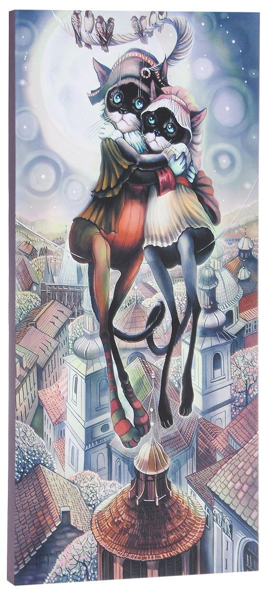 КвикДекор Картина детская Наполеон и ЖозефинаAP-00832-00048-Cn3060Картина КвикДекор Наполеон и Жозефина - это прекрасное украшение для вашей гостиной, детской или спальни. Она привнесет в интерьер яркий акцент и сделает обстановку комфортной и уютной. Автор картины - Надежда Соколова - родилась в 1973 году в городе Дрездене. В 1986-1990 годах училась в Художественной школе города Новгорода. В 1995 году окончила с отличием рекламное отделение Новгородского училища культуры. В 2000 году защитила диплом на факультете Искусств и Технологий НовГУ имени Ярослава Мудрого. Выставляется с 1996 года. Работает в техниках: живопись, графика, батик, лаковая миниатюра, авторская кукла. Является автором оригинального стиля в миниатюре. Изделие представляет собой картину с латексной печатью на натуральном хлопчатобумажном холсте. Галерейная натяжка на деревянный подрамник выполнена очень аккуратно, а боковые части картины запечатаны тоновой заливкой. Обратная сторона подрамника содержит отверстие, благодаря которому картину можно легко закрепить на стене и...