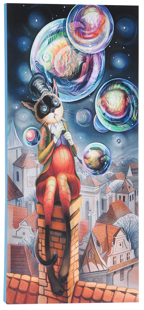 КвикДекор Картина детская ПузыриAP-00847-00063-Cn3060Картина КвикДекор Пузыри - это прекрасное украшение для вашей гостиной, детской или спальни. Она привнесет в интерьер яркий акцент и сделает обстановку комфортной и уютной. Автор картины - Надежда Соколова - родилась в 1973 году в городе Дрездене. В 1986-1990 годах училась в Художественной школе города Новгорода. В 1995 году окончила с отличием рекламное отделение Новгородского училища культуры. В 2000 году защитила диплом на факультете Искусств и Технологий НовГУ имени Ярослава Мудрого. Выставляется с 1996 года. Работает в техниках: живопись, графика, батик, лаковая миниатюра, авторская кукла. Является автором оригинального стиля в миниатюре. Изделие представляет собой картину с латексной печатью на натуральном хлопчатобумажном холсте. Галерейная натяжка на деревянный подрамник выполнена очень аккуратно, а боковые части картины запечатаны тоновой заливкой. Обратная сторона подрамника содержит отверстие, благодаря которому картину можно легко закрепить на стене и...